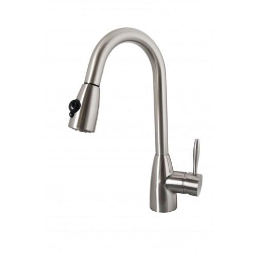 Virtu USA Neptune  PSK-1001-BN Faucet in Brushed Nickel