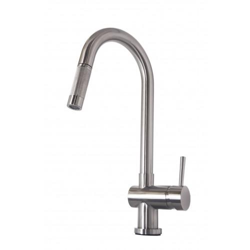 Virtu USA Huya  PSK-1002-BN Faucet in Brushed Nickel