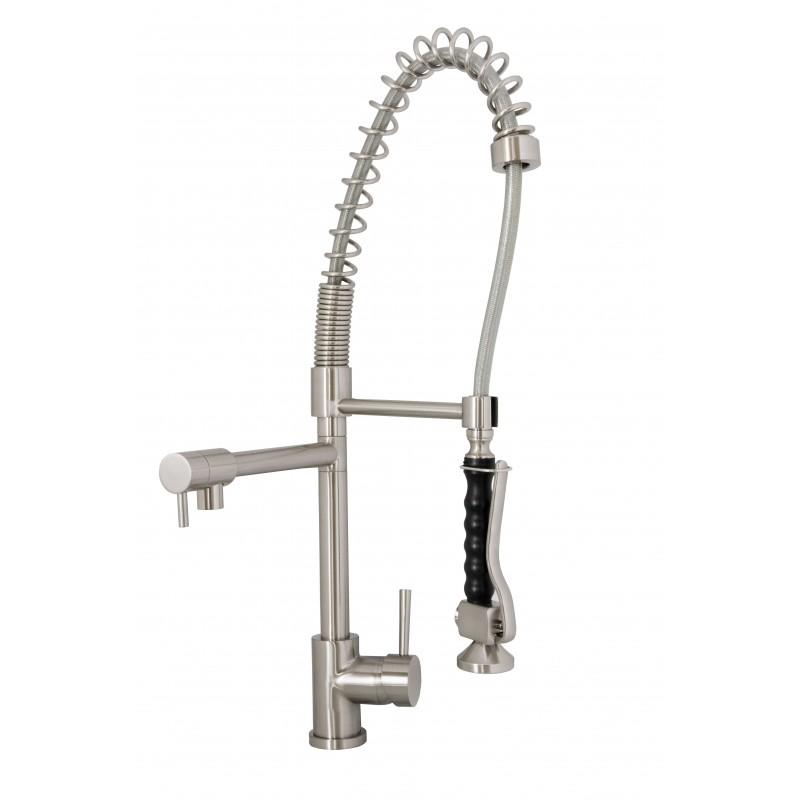 Virtu USA Torlan PSK-1006-BN Faucet in Brushed Nickel