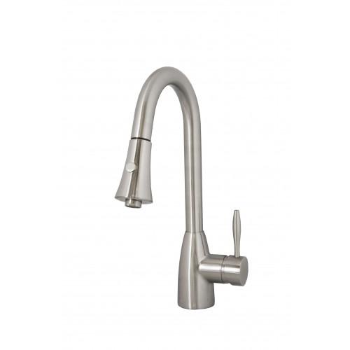 Virtu USA Varuna  PSK-901-BN Faucet in Brushed Nickel