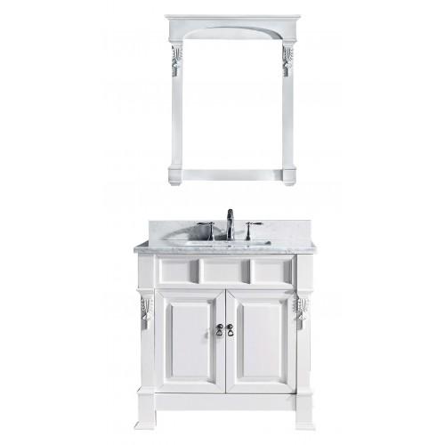"Huntshire 36"" Single Bathroom Vanity Cabinet Set in White"
