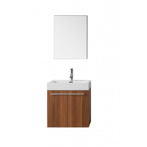 "Midori 24"" Single Bathroom Vanity Cabinet Set in Plum"