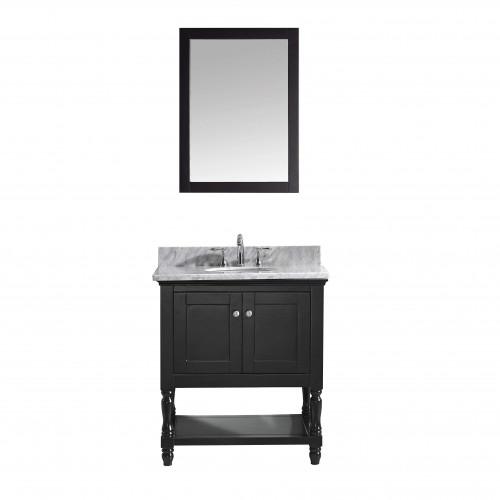 "Julianna  32"" Single Bathroom Vanity Cabinet Set in Espresso"