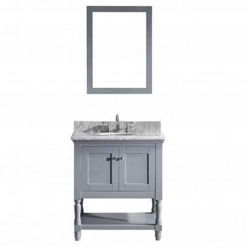 "Julianna  32"" Single Bathroom Vanity Cabinet Set in Grey"