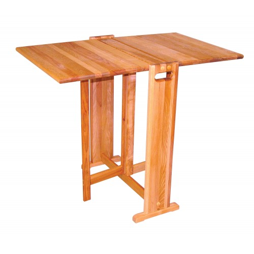 Fold-A-Way Butcher Block Table
