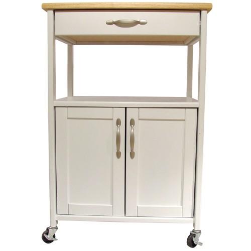 Kitchen Trolley - White