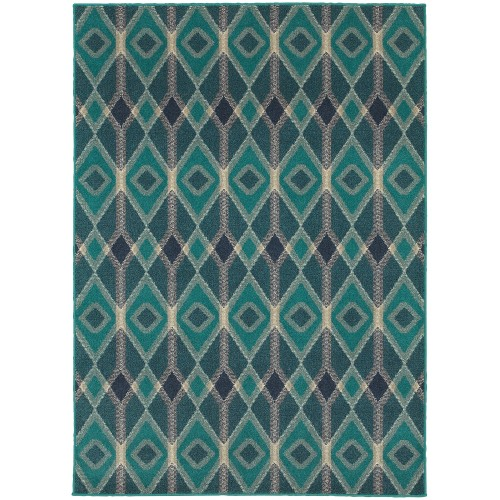 "HIGHLANDS 6627B 1'10"" X  3' 0"" Area Rug"