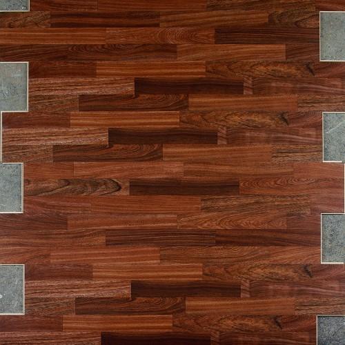 Dark Merbau 3-Strip Planks