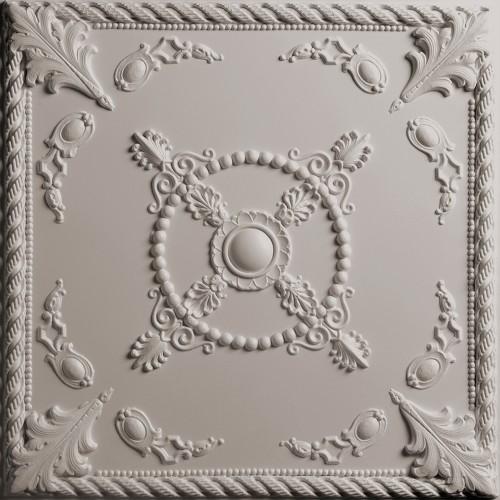 "Alexander  24"" x 24"" Latte Ceiling Tiles"