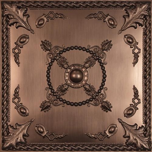 """""""Alexander  24"""""""" x 24"""""""" Bronze Ceiling Tiles"""""""