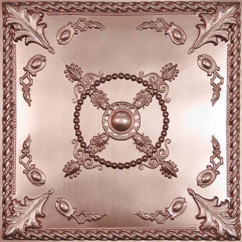 "Alexander  24"" x 24"" Copper Ceiling Tiles"