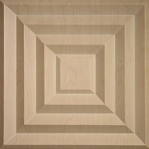 """Aristocrat  24"""" x 24"""" Sandal Wood Ceiling Tiles"""