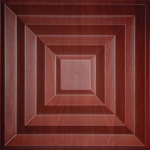 "Aristocrat  24"" x 24"" Cherry Wood Ceiling Tiles"
