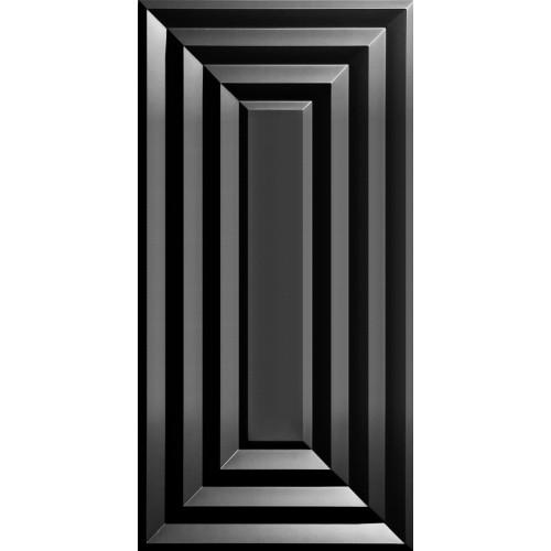 """Aristocrat  24"""" x 48"""" Black Ceiling Tiles"""