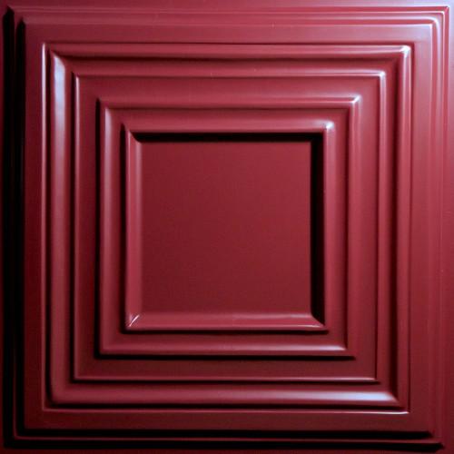 """Bistro 24"""" x 24"""" Merlot Ceiling Tiles"""