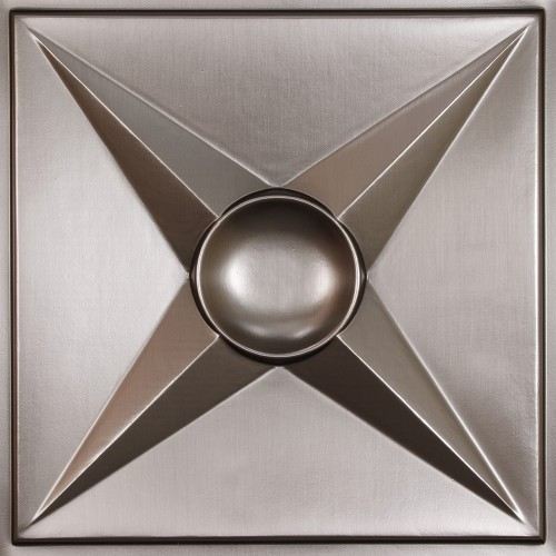 """Circle Star 24"""" x 24"""" Tin Ceiling Tiles"""
