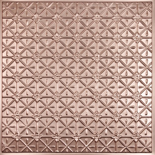 """Continental 24"""" x 24"""" Copper Ceiling Tiles"""
