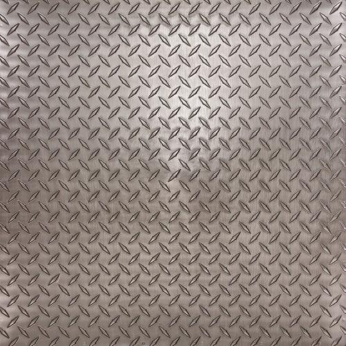 """Diamond Plate  24"""" x 24"""" Tin Ceiling Tiles"""