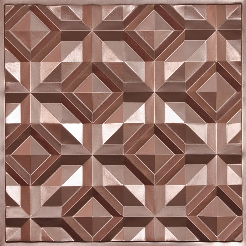 """Doric  24"""" x 24"""" Copper Ceiling Tiles"""