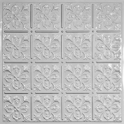 """Fleur-de-lis  24"""" x 24"""" Sustainable Ceiling Tiles"""