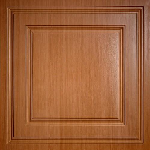 """Oxford  24"""" x 24"""" Caramel Wood Ceiling Tiles"""