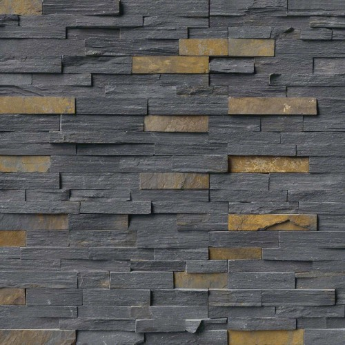 Charcoal Rust Panel 6x24 (4 Sqft Per Box)