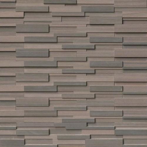Brown Wave 3D Honed Panel 6x24 (6 Sqft Per Box)