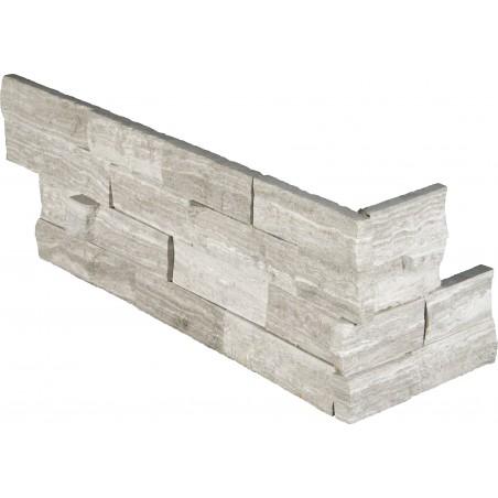 """""""White Oak Splitface """""""" L"""""""" Panel 6x24 (4 Sqft Per Box)"""""""