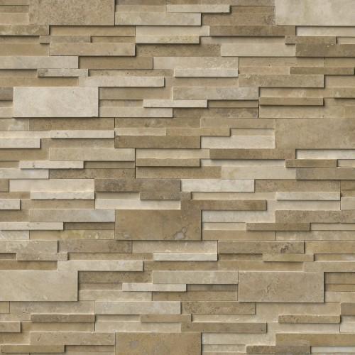 Casa Blend 3D Honed Panel 6x24 (8 Sqft Per Box)