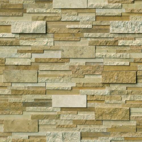 Casa Blend 3D Multi Finish Panel 6x24 (8 Sqft Per Box)