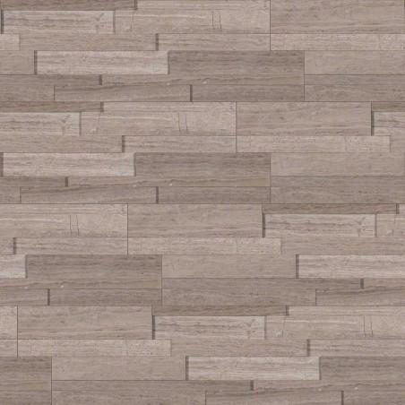"""""""Gray Oak 3D Honed """"""""L"""""""" Panel 6x18x6"""""""