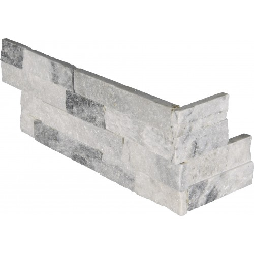 "Alaska Gray Corner "" L"" Panel 6x24 (4 Sqft Per Box)"