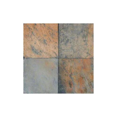 African Multi Color Slate 12x12 Tile Gauged