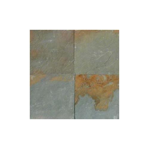 Aqua Rustic Slate 12x12 Tile Gauged