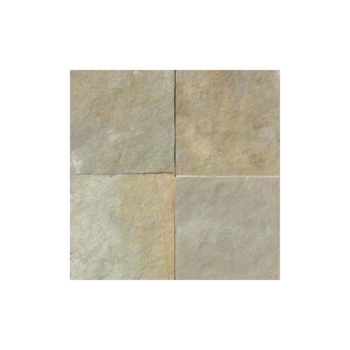 Madras Yellow Slate 12x12 Tile Gauged