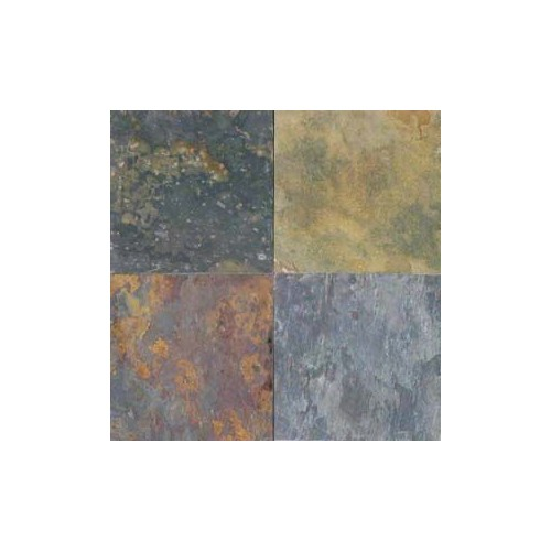 Multi Classic Slate 12x12 Tile Gauged