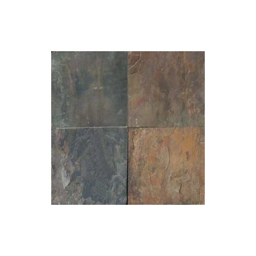 Rustic Gold Slate 12x12 Tile Gauged