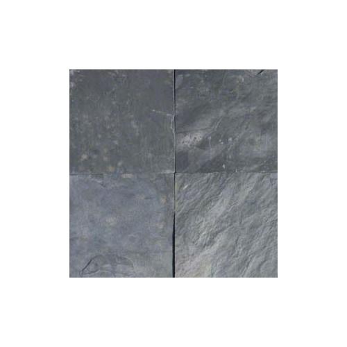 Silver Blue Slate 12x12 Tile Gauged
