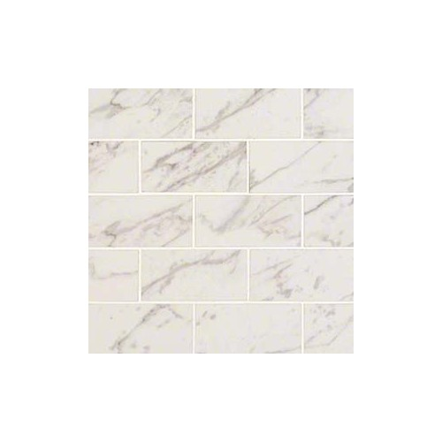 Pietra Carrara 2x4 White Porcelain Polished 2X4
