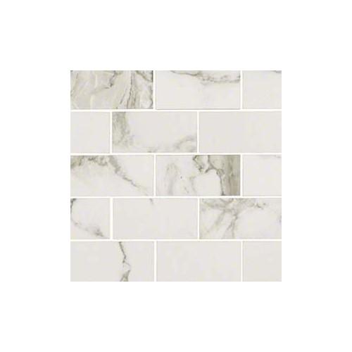 Pietra Statuario 2x4 White Porcelain Polished 2X4