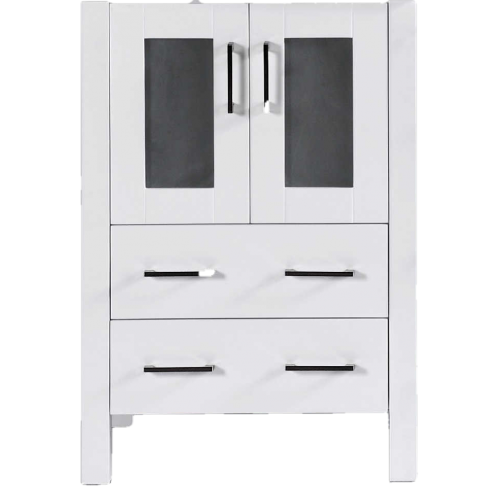 """""""24""""""""  A-WH-24MC White Single Vanity Cabinet """""""