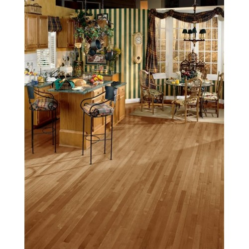 Sugar Creek Solid Strip Maple - Toasted Almond