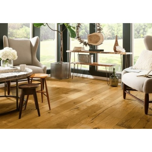 Artistic Timbers TimberBrushed White Oak - Deep Etched Iron Mountain