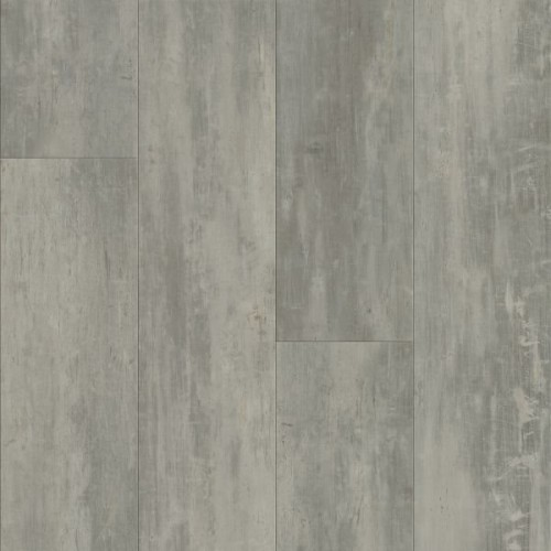 Armstrong LUXE Plank with FasTak Install Concrete Structures - Soho Gray