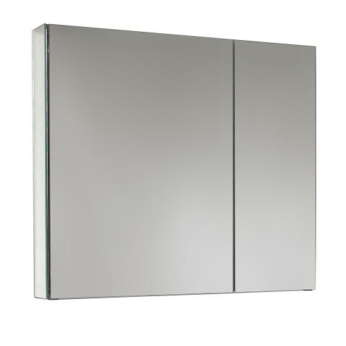"Fresca 30"" Wide Bathroom Medicine Cabinet w/ Mirrors"