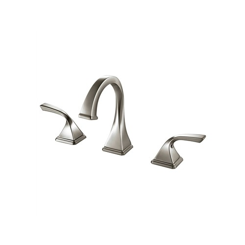 Fresca Sevena Widespread Mount Bathrooom Vanity Faucet - Brushed Nickel