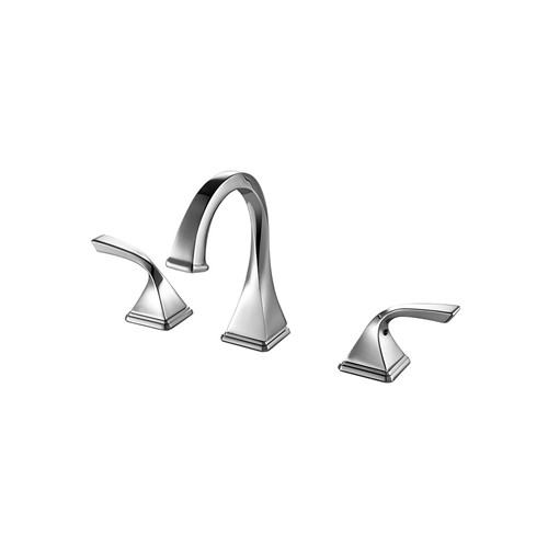 Fresca Sevena Widespread Mount Bathrooom Vanity Faucet - Chrome