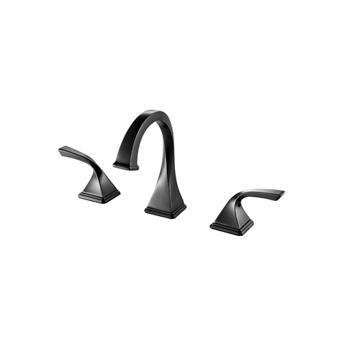 Fresca Sevena Widespread Mount Bathrooom Vanity Faucet - Oil Rubbed Bronze