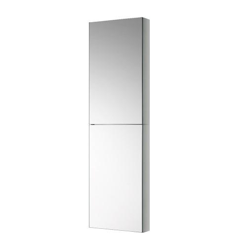 """Fresca 52"""" Tall Bathroom Medicine Cabinet w Mirrors"""
