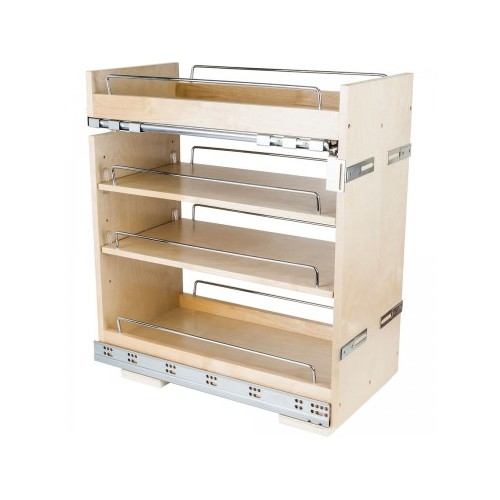 "11"" Base cabinet pullout with premium soft-close undermount"